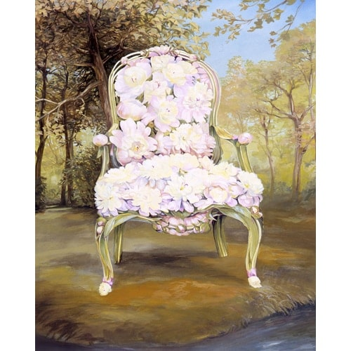 Floral Chair Series - Peony Chair
