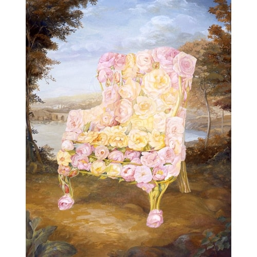 Floral Chair Series - Rose Chair