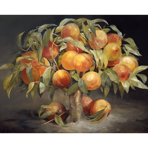 Fruit Tree Triptych - Peach Tree