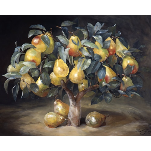 Fruit Tree Triptych - Pear Tree