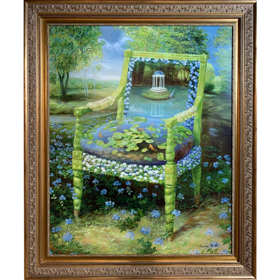 Topiary Series, Lily Pad Gazebo